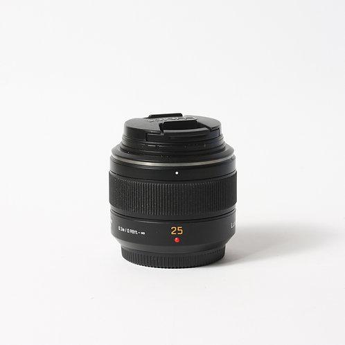 Panasonic 25mm F1.4 Asph. Summilux