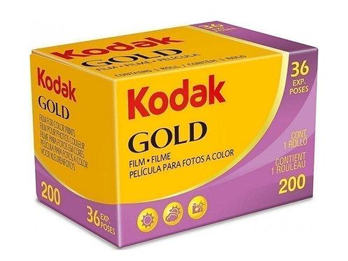 Kodak Gold 200 35mm Film (36 exp)