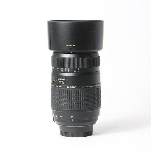 Tamron AF 70-300mm F4-5.6 Di LD Tele-Macro