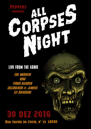 ALL CORPSES NIGHT - poster