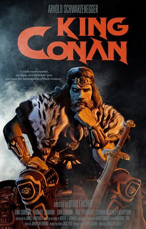 King Conan - alternative poster
