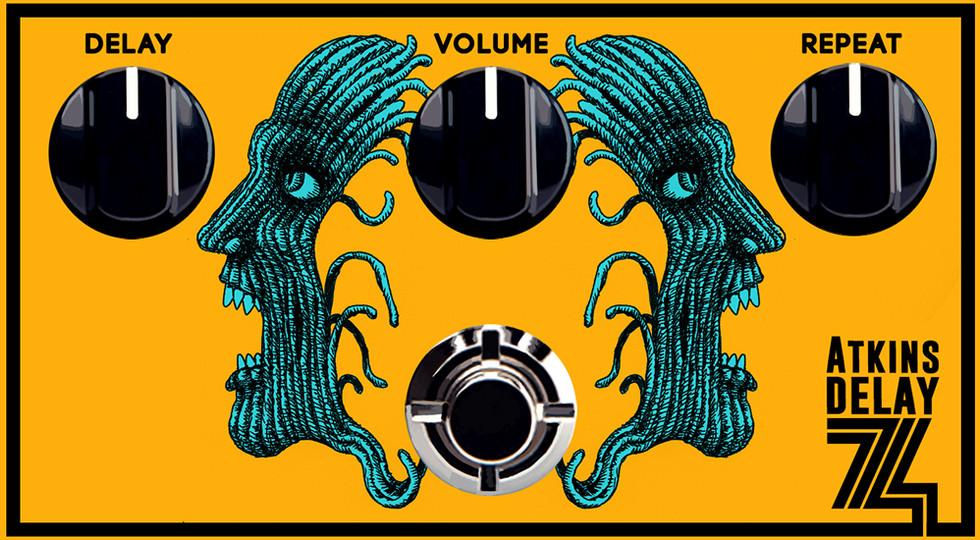 DelayAtkins effects pedal