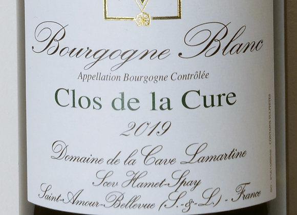 """Domaine Hamet-Spay - Bourgogne blanc """"Clos de la Cure"""" 2019 - 75 cl"""
