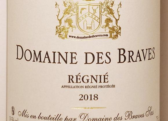Domaine des Braves - Régnié 2018 - 75 cl