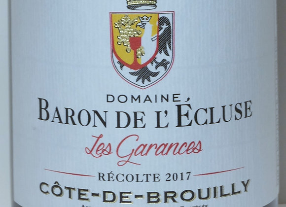"""Domaine Baron de l'Ecluse - Côte de Brouilly """"Les Garances"""" 2017 - 7"""