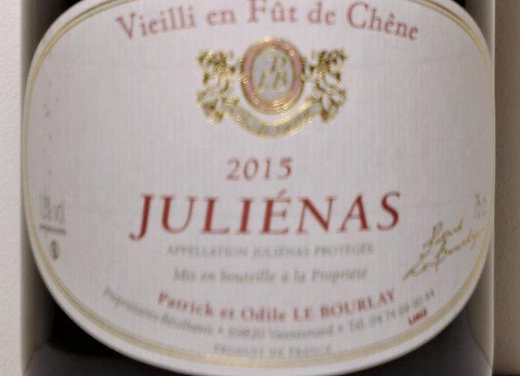 """Domaine Le Bourlay - Julienas vieilli en fût"""" 2015 - 75 cl"""