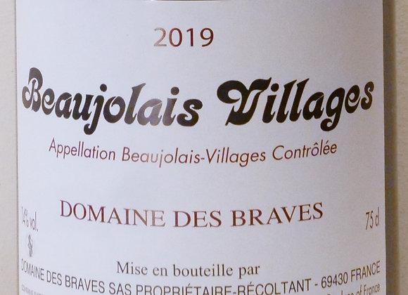 Domaine des Braves - Beaujolais Villages 2019 - 75 cl