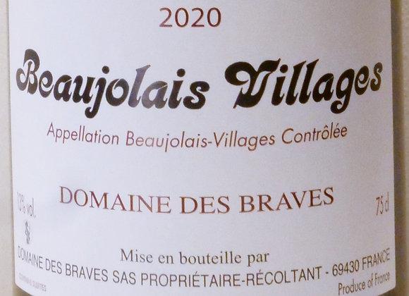 Domaine des Braves - Beaujolais Villages 2020 - 75 cl
