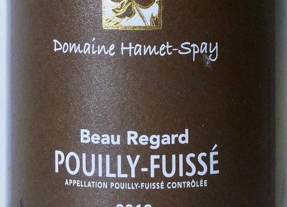 """Domaine Hamet-Spay - Pouilly Fuissé """"Beau Regard"""" 2020 - 75 cl"""