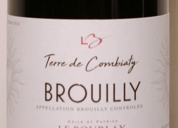 "Domaine Le Bourlay - Brouilly ""Terre de Combiaty"" 2018 - 75 cl"