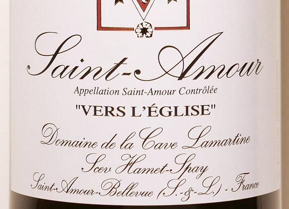 """Domaine Hamet-Spay - Saint-Amour """"Vers l'Eglise"""" 2018 - 37,5 cl"""