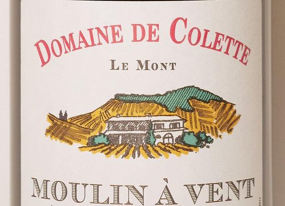 """Domaine de Colette - Moulin à Vent """"Le Mont"""" Vieilles vignes 2015- 7"""