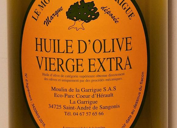 Moulin de la Garrigue - Huile d'olive vierge extra 1 L