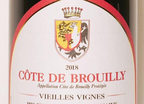 """Domaine Baron de l'Ecluse - Côte de Brouilly """"Vieilles Vignes"""" 2018 - 75 cl"""