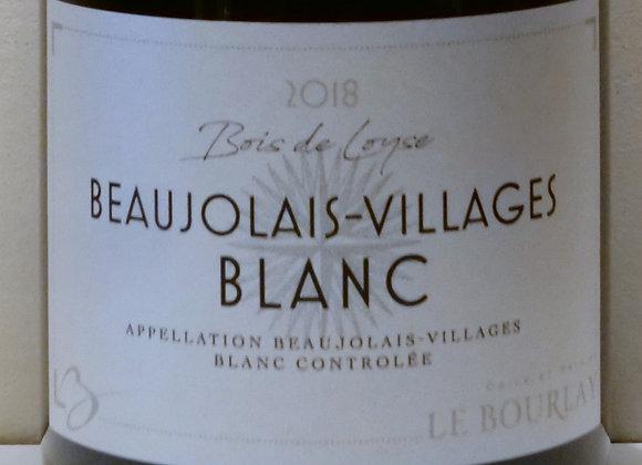 """Domaine Le Bourlay - Beaujolais-Villages blanc """"Bois de Loyse"""" 2018 - 75 cl"""