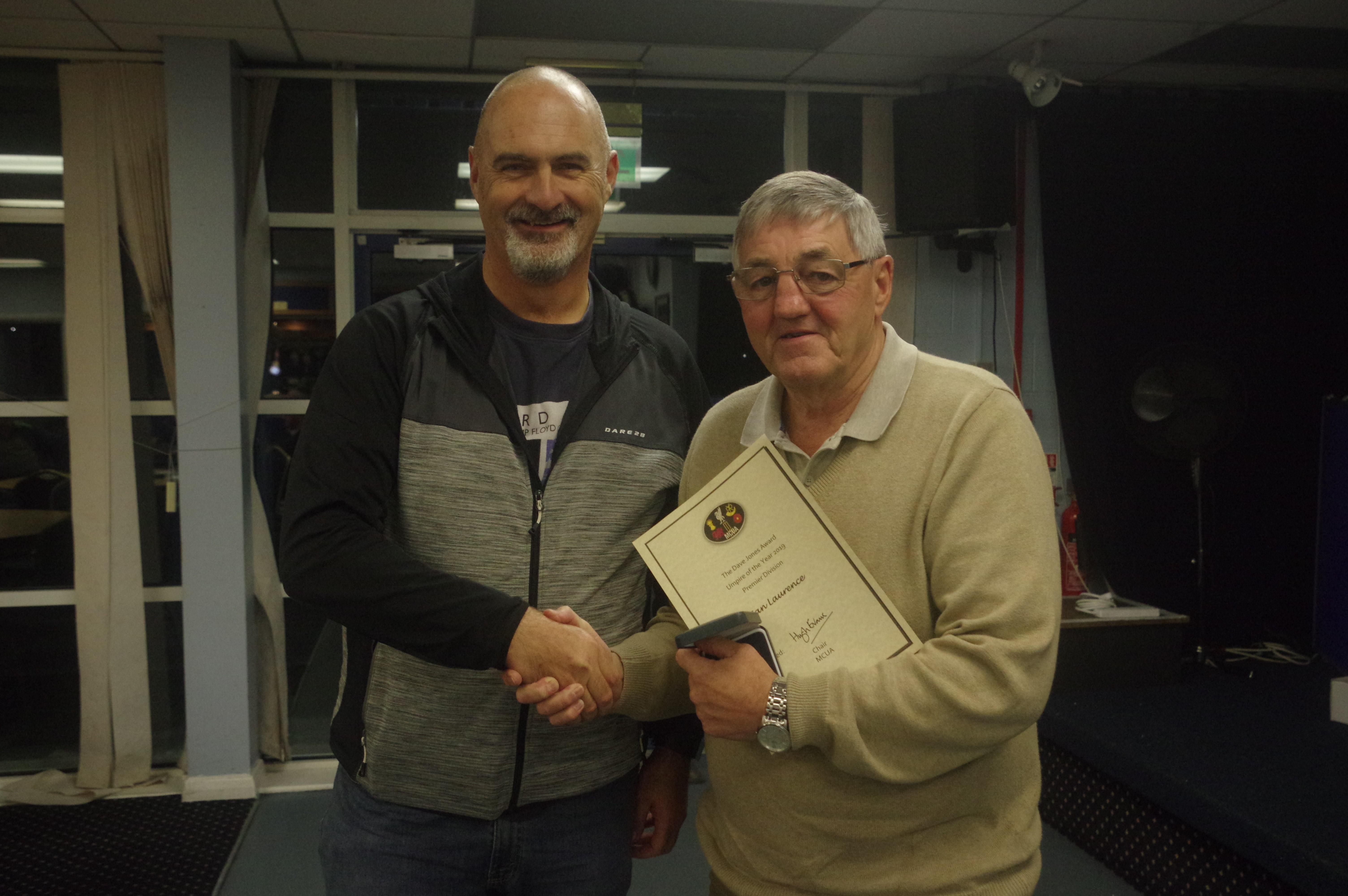 Premier Division - Ian Laurence