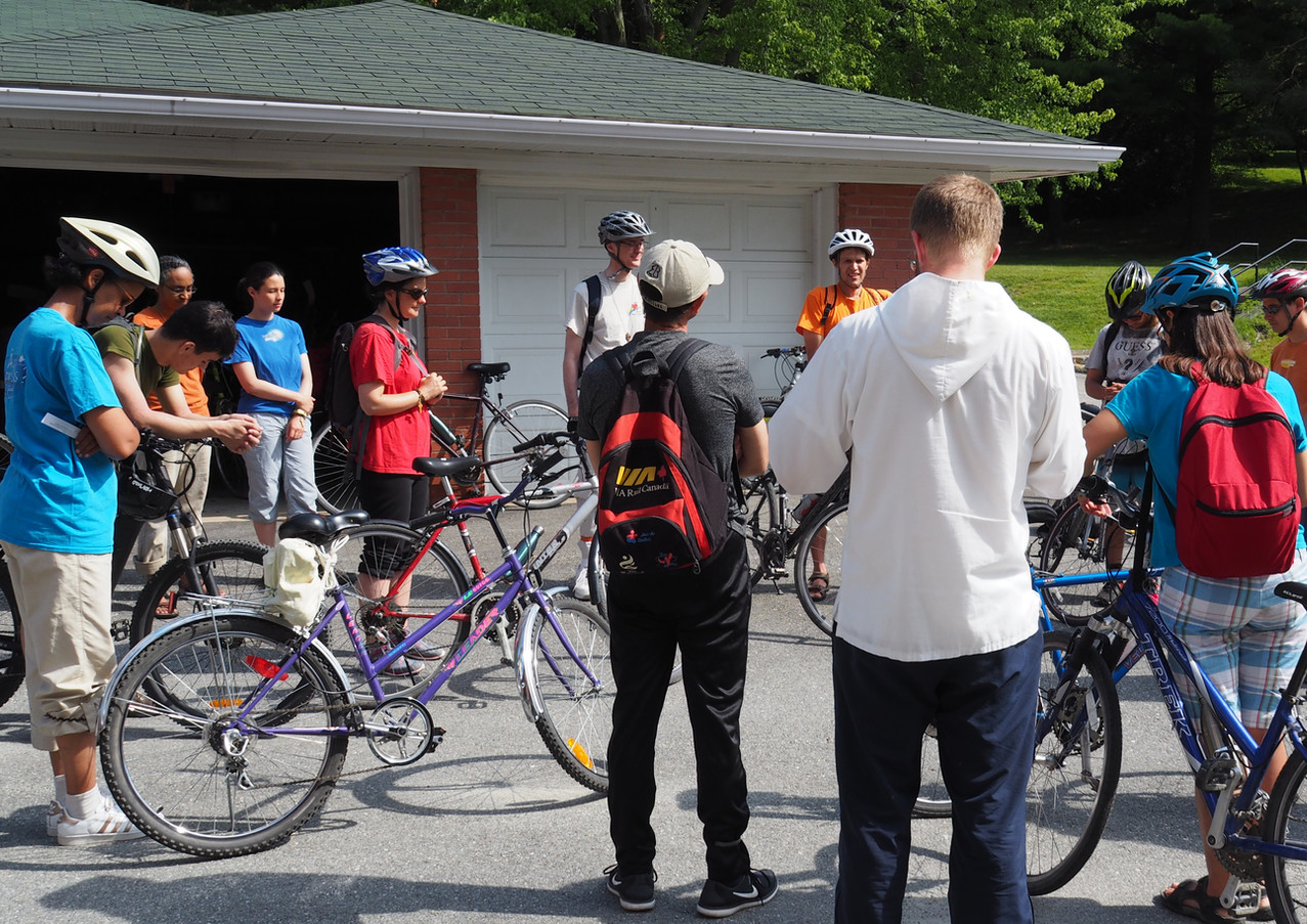 Randonnée vélo Jeunes Famille Marie-Jeunesse