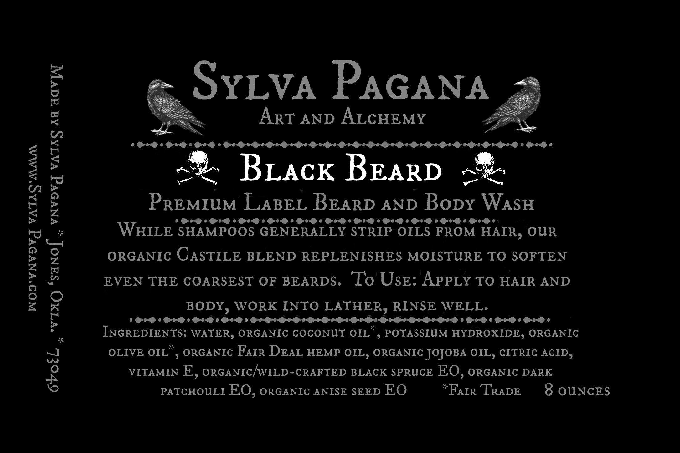 Beard and Body Wash - PREMIUM Label