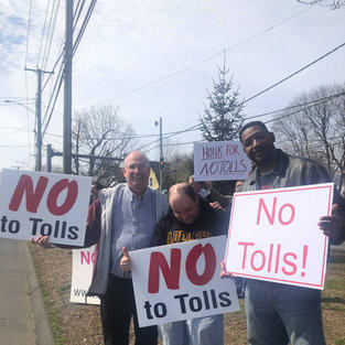 No Tolls Rally