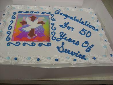 Pastor Doug 50th Cake.JPG