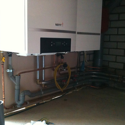 Verwarmingsketel en warmtepomp installeren