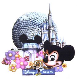 In store promo for Disney