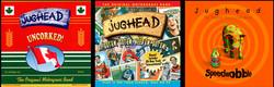 Cover art for 3 Jughead CDs.