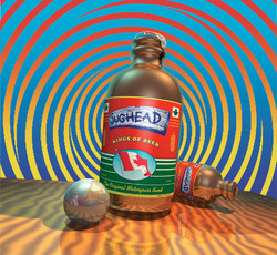 Jughead Beer Bottle art