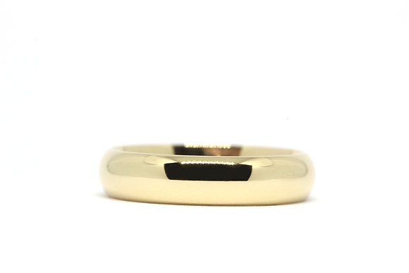 D Court | 5mm | 18ct Yellow Gold