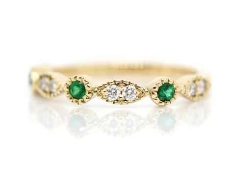 Bespoke, vintage wedding ring