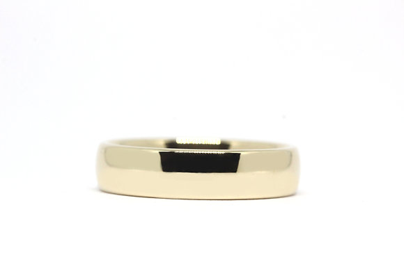 Court   5mm   18ct Yellow Gold