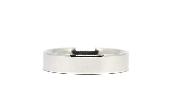 Flat Court   5mm   Platinum