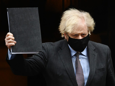 """Boris Johnson """"very confident"""" all COVID-19 restrictions will end by – June 21st"""
