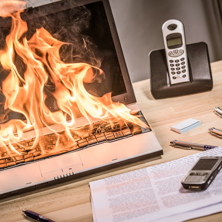 3 steps to take that reduce the likelihood of an office fire