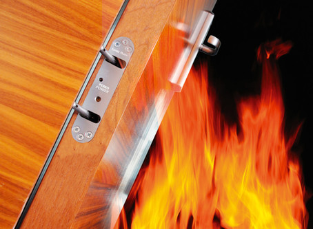 How long will fire doors withstand fire?