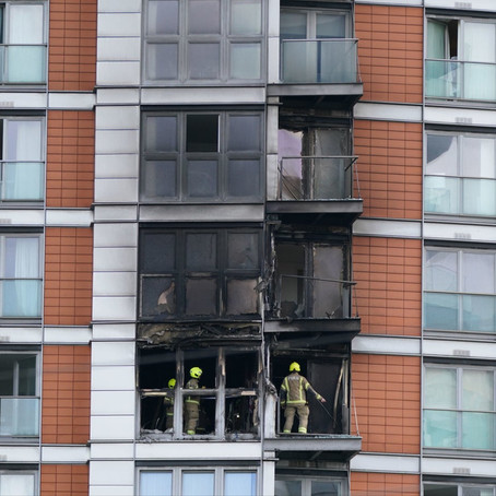Huge fire at London tower block