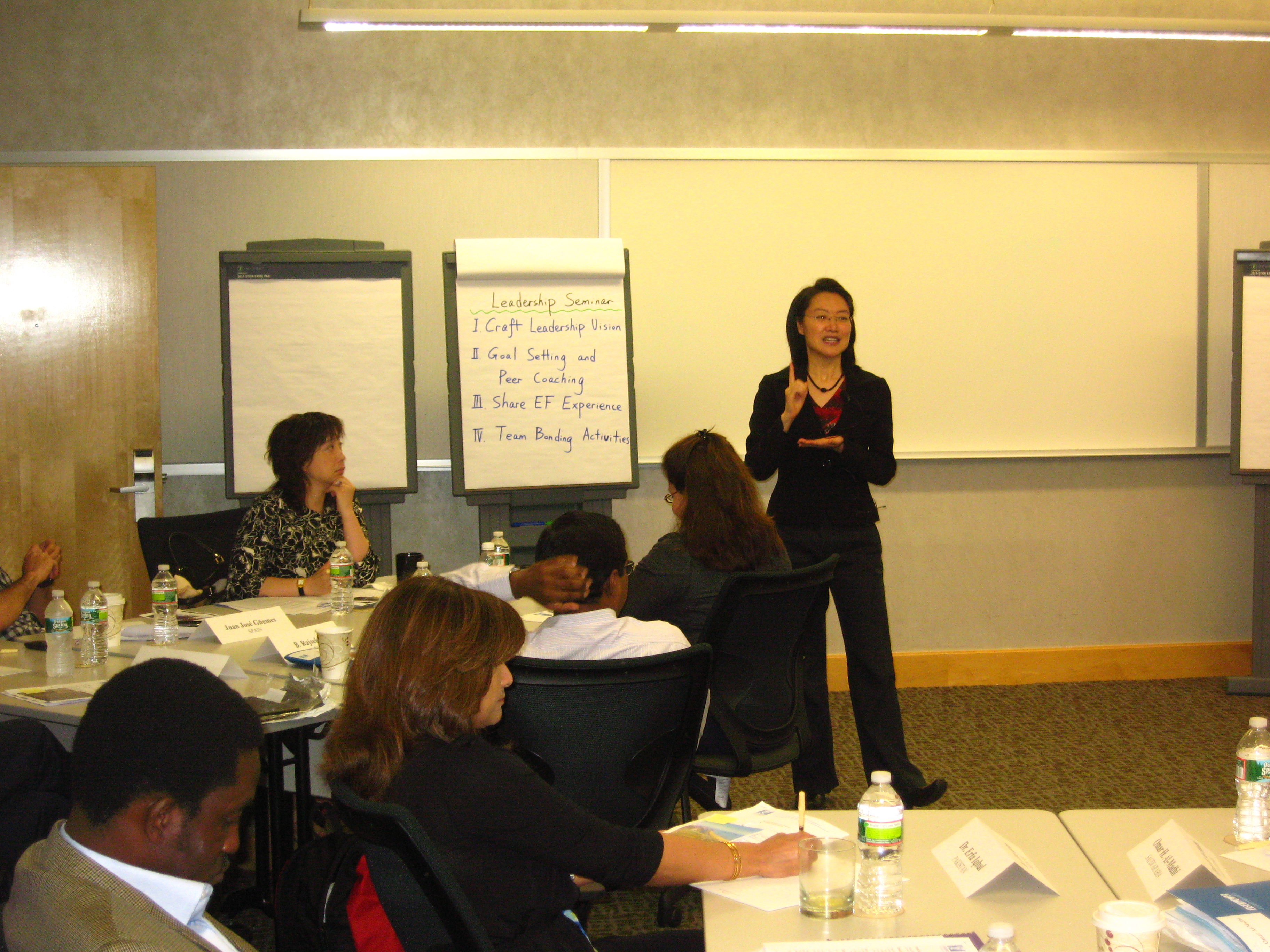 Dr Cheng Zhu's Leadership Seminar