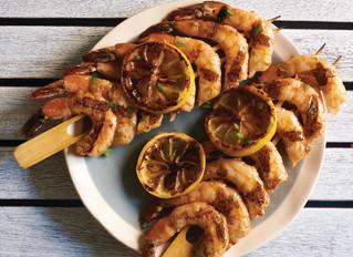 Grilled Spicy Shrimp Skewers