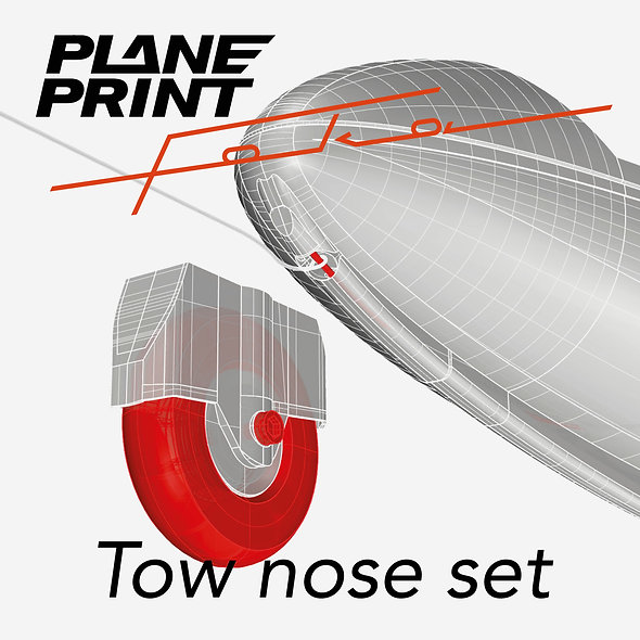 Foka 4 tow nose set STL-FILES