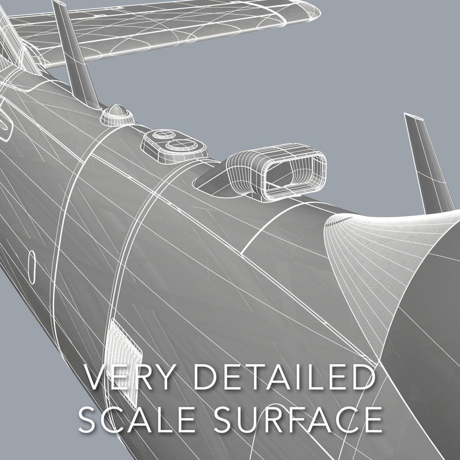 features planeprint super tucano