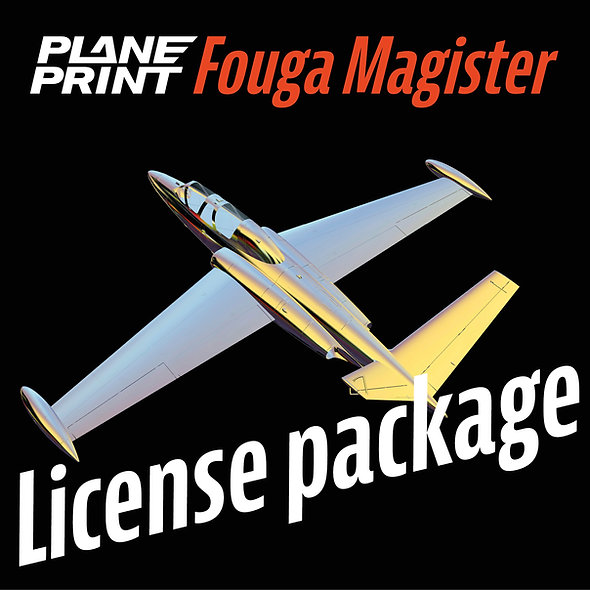 FOUGA MAGISTER License package