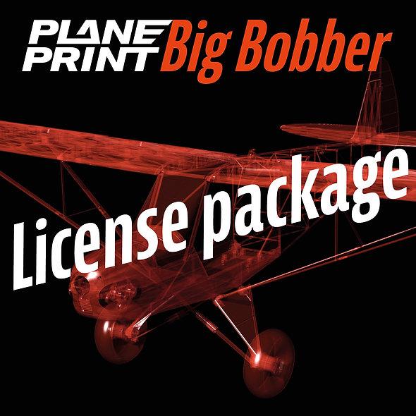BIG BOBBER License package