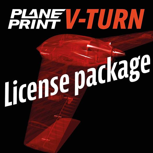 V-TURN License package