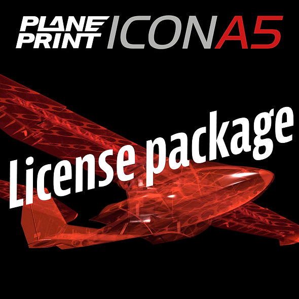 ICON A5 License package