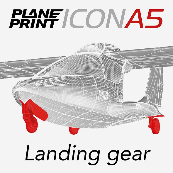 ICON A5 Landing gear STL-FILES