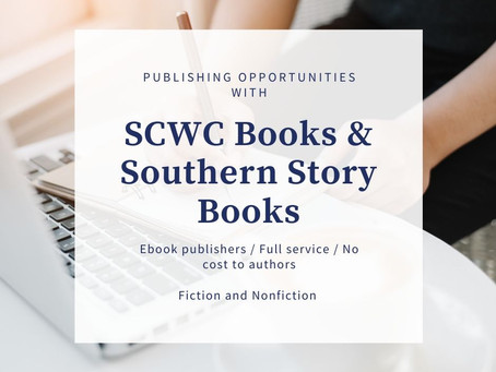 Get Published with SCWC Books and Southern Story Books