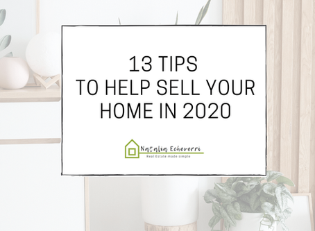 13 Tips to Help Sell Your Home in 2020