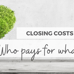 Wondering How Much For Closing Costs?