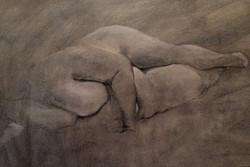 Kara Wall, 5_Resting nude