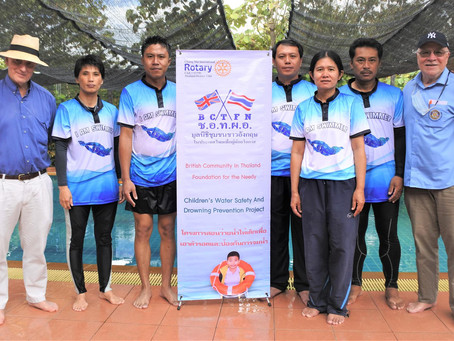 Drowning Prevention Program is Progressing Swimmingly